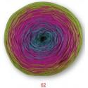 Katia Spring Rainbow - 62 - Turquoise-Fuchsia-Pistache - OP is OP