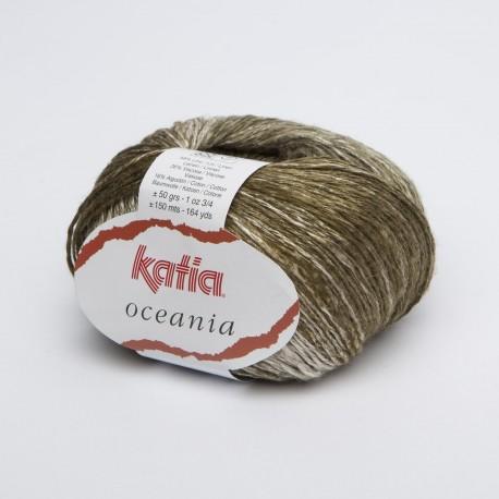 Katia Oceania - kleur 61 Kaki groen