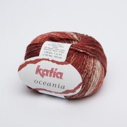 Katia Oceania - kleur 62 Wijnrood koraal OP is OP