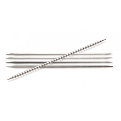 KnitPro Nova (metaal) 15 cm 2,0 mm