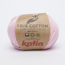 Katia Fair Cotton - Kleur 9 Bleekrood OP is OP