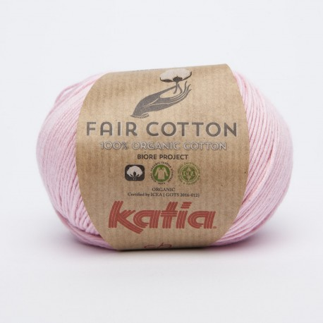 Katia Fair Cotton - Kleur 9 Bleekrood