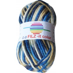 GB FILZ - it Color - 142 Blauw-Beige-Ecru