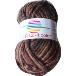 GB FILZ - it Color - 145 Bruintinten