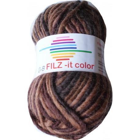 GB FILZ - it Color - 145 Bruintinten