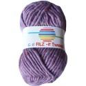 GB FILZ - it Tweed - 306 Paars
