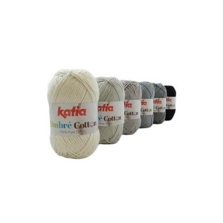 Katia Ombre Cotton - Brei-haakpakket kleur 6