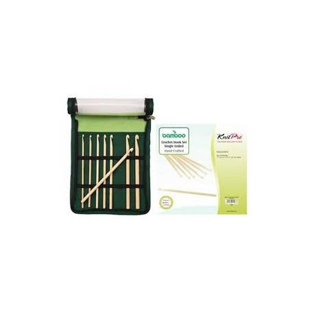 KnitPro Bamboe Haaknaaldenset