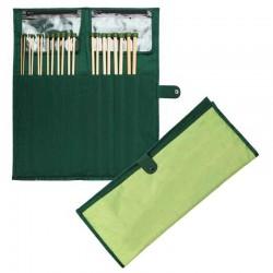 KnitPro Bamboe Breinaalden Set 25 cm