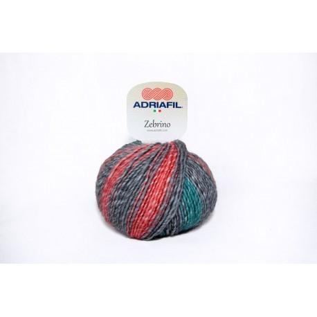 Adriafil Zebrino - 67 Multi Pastel Fancy