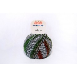 Adriafil Zebrino - 64 Multicolour fancy