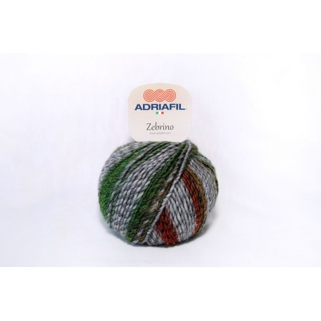 Adriafil Zebrino - 64 Multicolour fancy