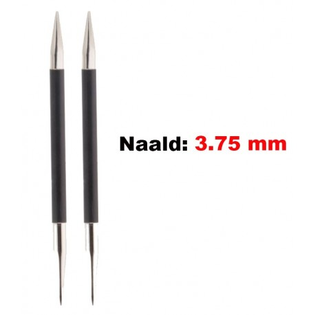 KnitPro Karbonz Verwisselbare Rondbreinaald 3.75