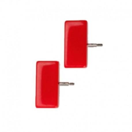 Chiaogoo Twist Red Lace eindstopper Mini