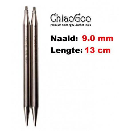 Chiaogoo Verwisselbare Naaldpunten 9.0 - Twist Red Lace Large (13 cm)
