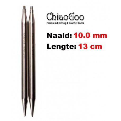 Chiaogoo Verwisselbare Naaldpunten 10.0 - Twist Red Lace Large (13 cm)