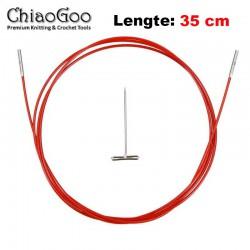 Chiaogoo Twist Red Lace kabel Large - 35 cm