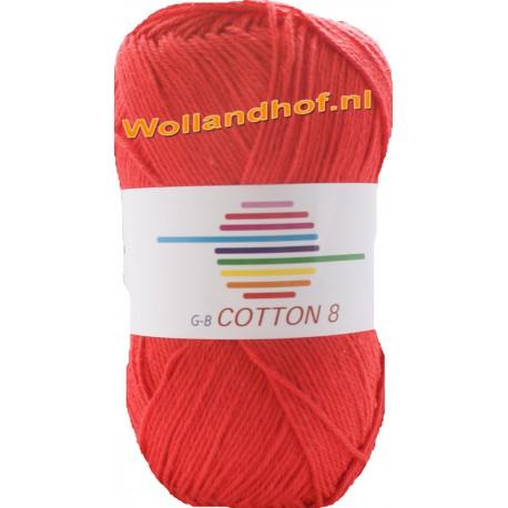 GB Cotton 8 1030 - Rood