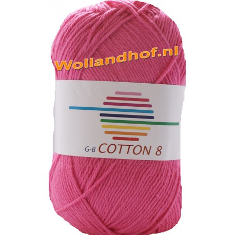 GB Cotton 8 1330 - Hard Roze