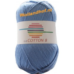 GB Cotton 8 1650 - Hemels Blauw OP is OP