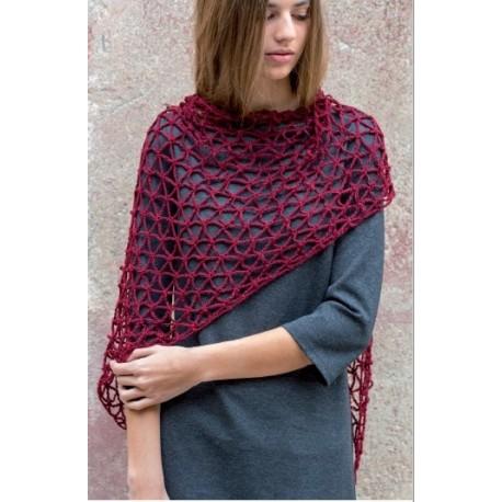 Patroon Katia Verso - Driehoek Sjaal (gehaakt)