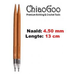 Chiaogoo Verwisselbare Naaldpunten 4.5 - Spin Bamboe Small (13 cm)