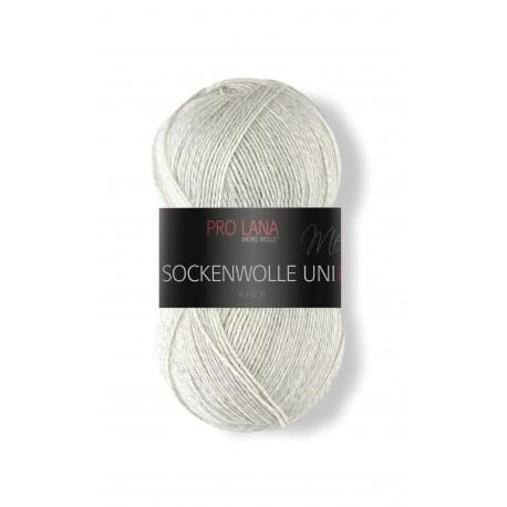 Pro Lana Sockenwolle Uni - 403 - Licht Grijs