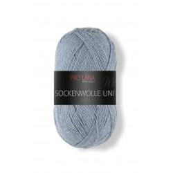 Pro Lana Sockenwolle Uni - 406 - Grijs Blauw
