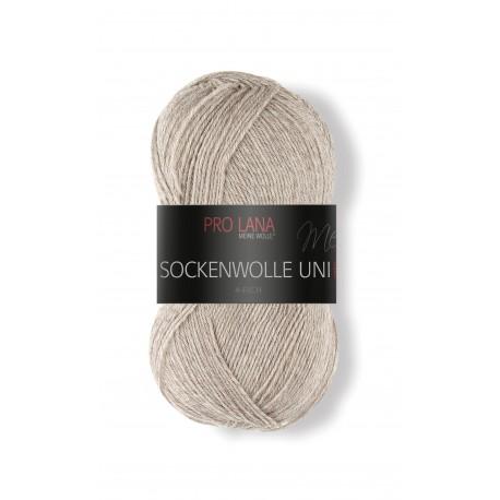 Pro Lana Sockenwolle Uni - 410 - Beige
