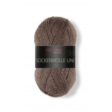 Pro Lana Sockenwolle Uni - 411 - Bruin