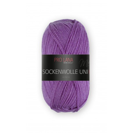 Pro Lana Sockenwolle Uni - 423 - Paars