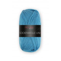 Pro Lana Sockenwolle Uni - 424 - Blauw