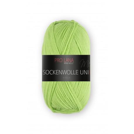 Pro Lana Sockenwolle Uni - 426- Licht Groen