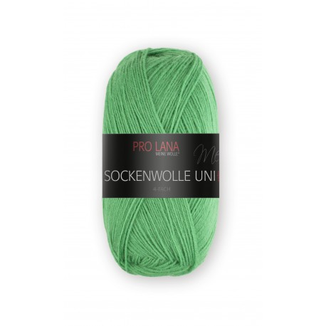 Pro Lana Sockenwolle Uni - 427 - Groen