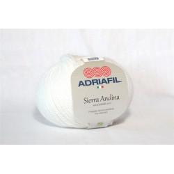 Adriafil Sierra Andina 100% Alpaca - kleur 2 Wit
