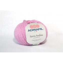 Adriafil Sierra Andina 100% Alpaca - kleur 12 Donker roze