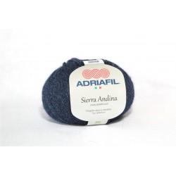 Adriafil Sierra Andina 100% Alpaca - kleur 23 Blauw