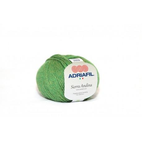 Adriafil Sierra Andina 100% Alpaca - kleur 25 Gras groen