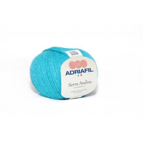 Adriafil Sierra Andina 100% Alpaca - kleur 27 Turquoise