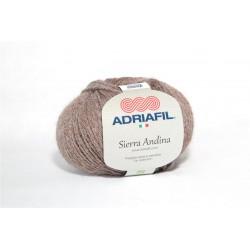 Adriafil Sierra Andina 100% Alpaca - kleur 33 Licht bruin