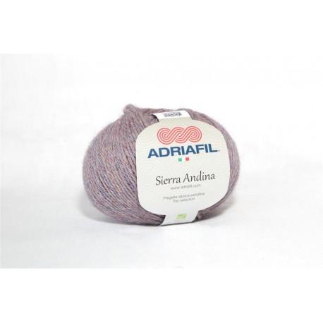Adriafil Sierra Andina 100% Alpaca - kleur 92 Donker lila