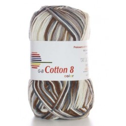 GB Cotton 8 Color 02 - Beige Bruin tinten