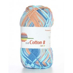 GB Cotton 8 Color 04 - Oranje Roze Blauw