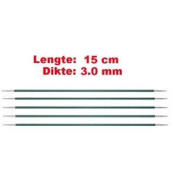 Knitpro Zing 15 cm Sokkennaalden 3.0 mm