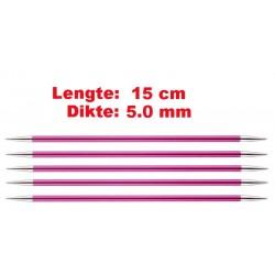 Knitpro Zing 15 cm Sokkennaalden 5.0 mm