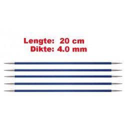 Knitpro Zing 20 cm Sokkennaalden 4.0 mm
