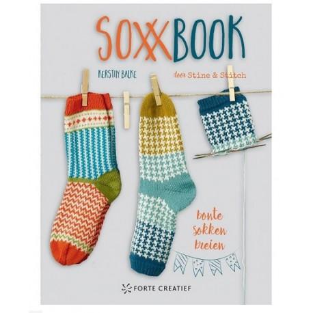 SoxxBook - bonte sokken breien