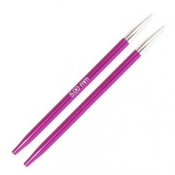 KnitPro Zing Verwisselbare Rondbreinaald 5.0 (11,5 cm)