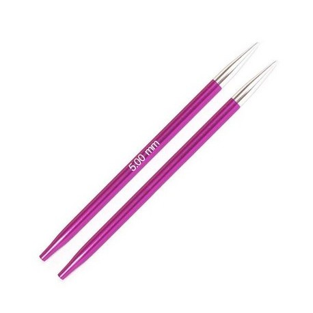 KnitPro Zing Verwisselbare Rondbreinaald 5.0 (8,7 cm)