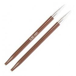 KnitPro Zing Verwisselbare Rondbreinaald 5.5 (8,7 cm)
